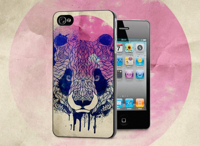 Coque iPhone 4/4S Panda Face