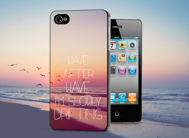 Coque iPhone 4/4S Wave