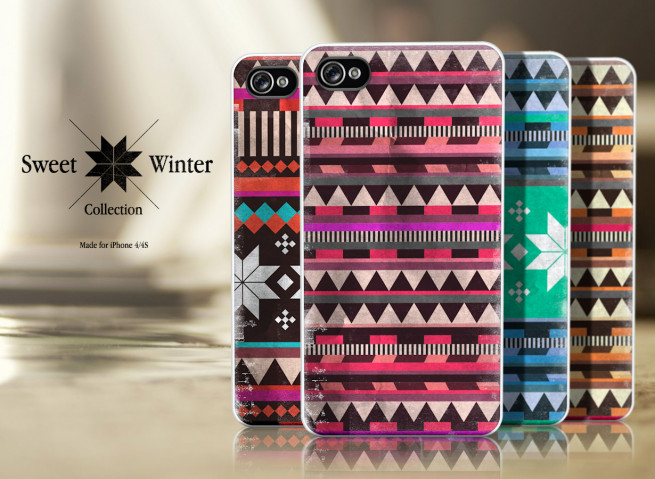 Coque Iphone 4G/4S Collection Sweet Winter