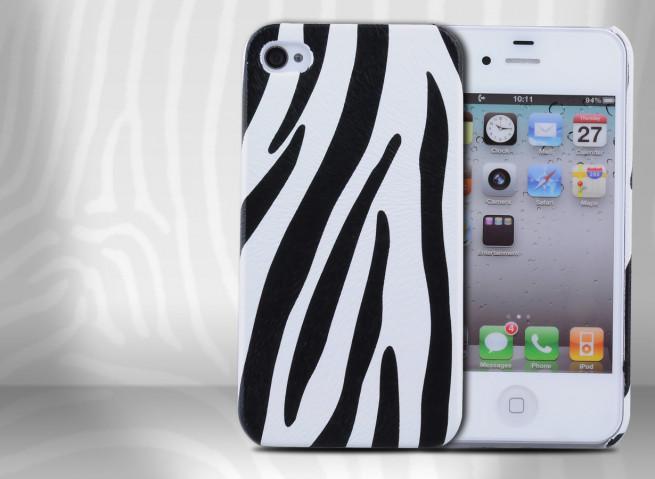 coque zebre iphone 4