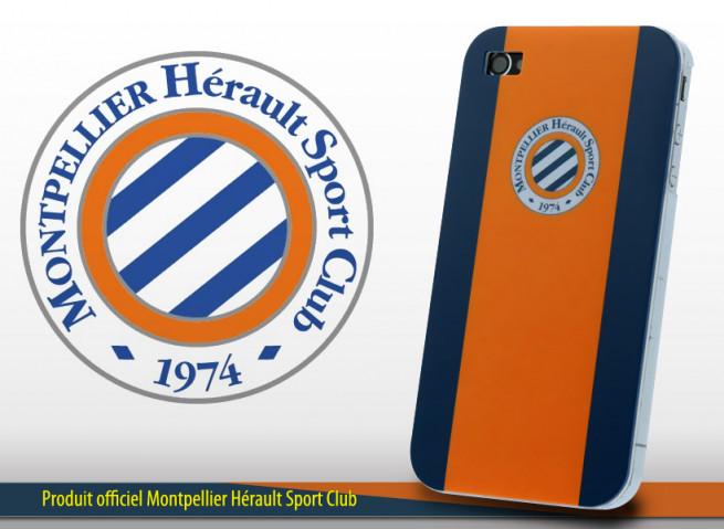 Coque Officielle iPhone 4/4S Montpellier H.S.C.