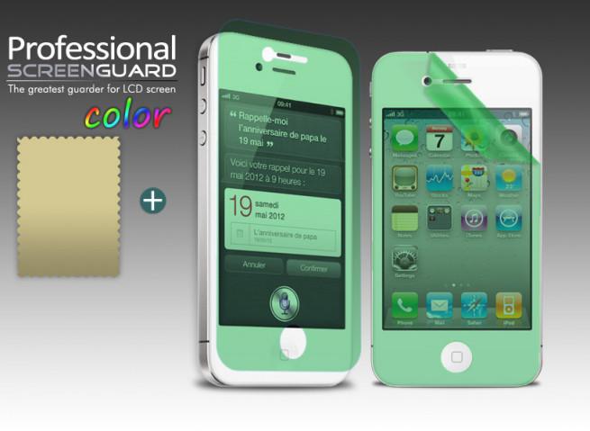 Film Protecteur iPhone 4/4S Vert