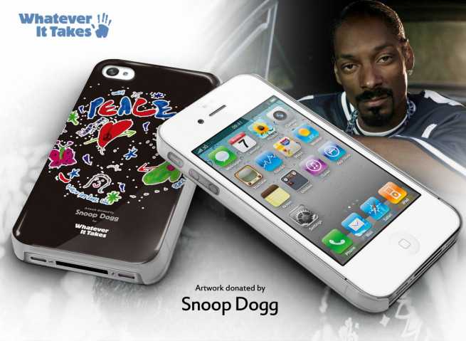 Coque iPhone 4/4S Snoop Dogg Case  - Whatever It Takes