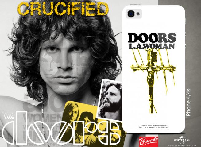 Coque iPhone 4/4S DEM The Doors - Jim Crucified