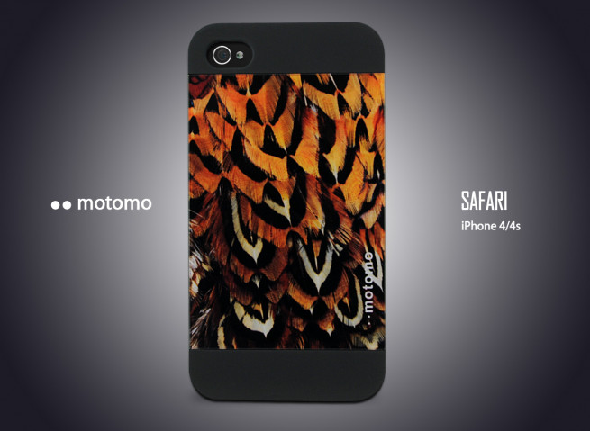Coque iPhone 4/4S Motomo Safari - Birds