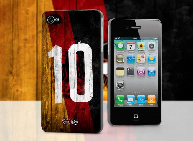 Coque iPhone 4/4S Coupe du Monde 2014-Allemagne