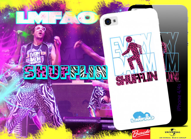 Coque iPhone 4/4S DEM LMFAO - Shufflin