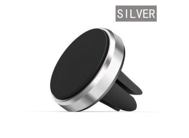 Support de voiture Mini Air Vent Mount Aimant Magnétique-Silver