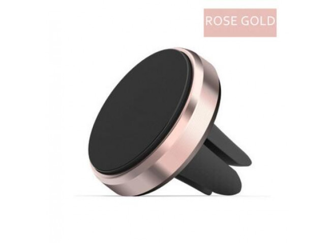 Support de voiture Mini Air Vent Mount Aimant Magnétique-Rose Gold