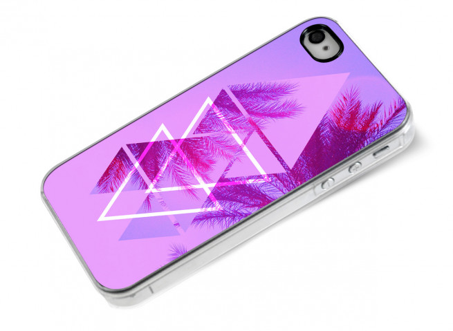 Coque iPhone 4/4S Summer Palmtree