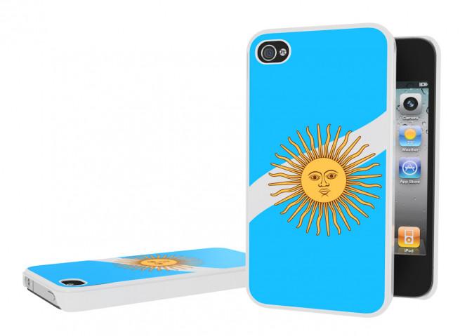 Coque iPhone 4/4S Drapeau Argentine
