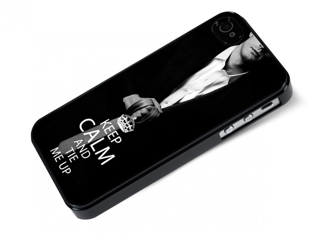 Coque iPhone 4/4S 50 Shades of Grey-Tie me Up
