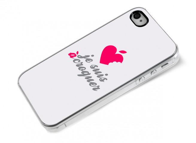 Coque iPhone 4/4S Je suis à croquer