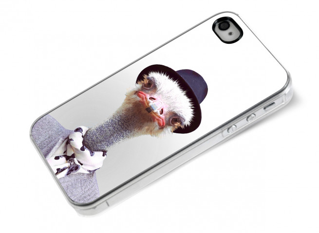 Coque iPhone 4/4S Smart Zoo- Autruche