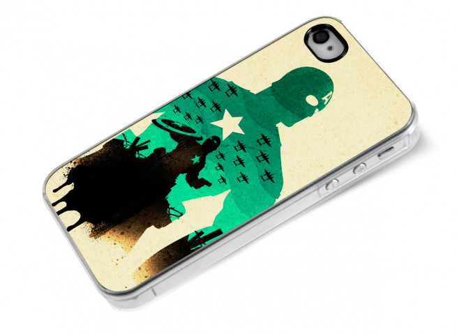Coque iPhone 4/4S The Avengers- Captain America