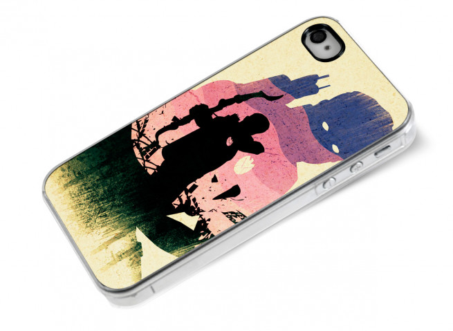 Coque iPhone 4/4S The Avengers- Hawk