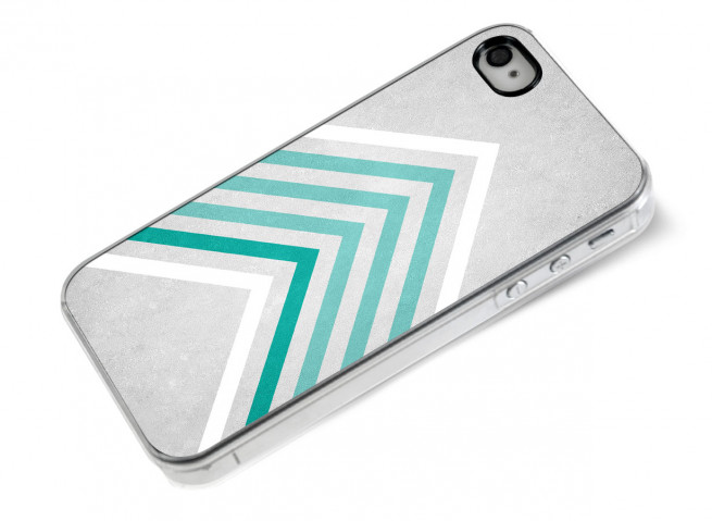 Coque iPhone 4/4S Chevrons Design