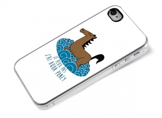 Coque iPhone 4/4S Water Poney