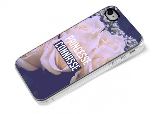 Coque iPhone 4/4S Princesse Connasse