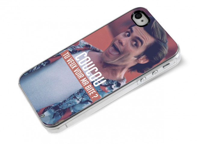 Coque iPhone 4/4S Ace Ventura
