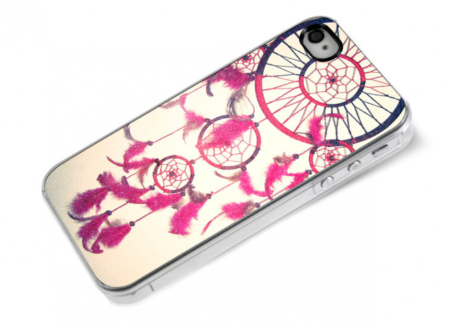 Coque iPhone 4/4S Pink Dreamcatcher