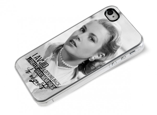Coque iPhone 4/4S The Icons- Grace Kelly