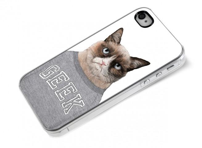 Coque iPhone 4/4S Grumpy Geek