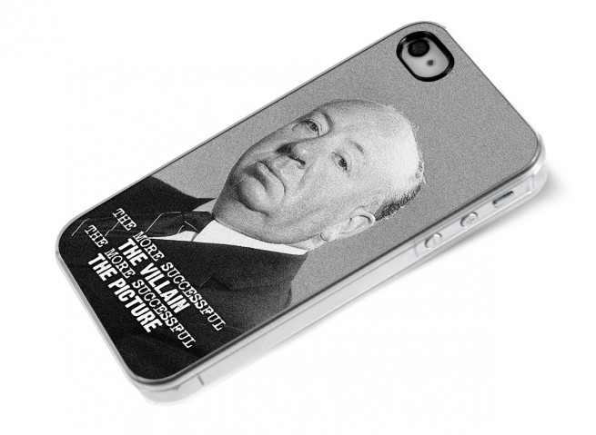 Coque iPhone 4/4S The Icons- Hitchcock