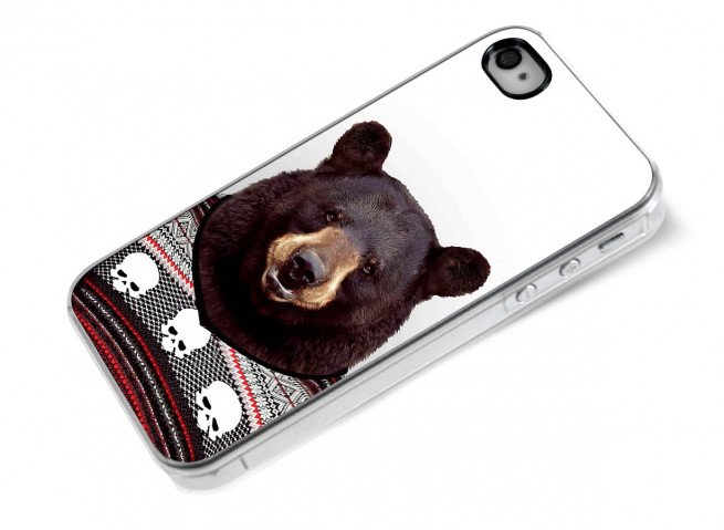 Coque iPhone 4/4S Smart Zoo- Ours
