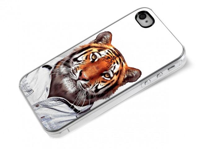 Coque iPhone 4/4S Smart Zoo- Tigre