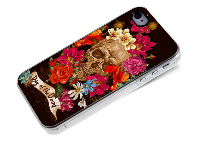 Coque iPhone 4/4S Day of the Dead