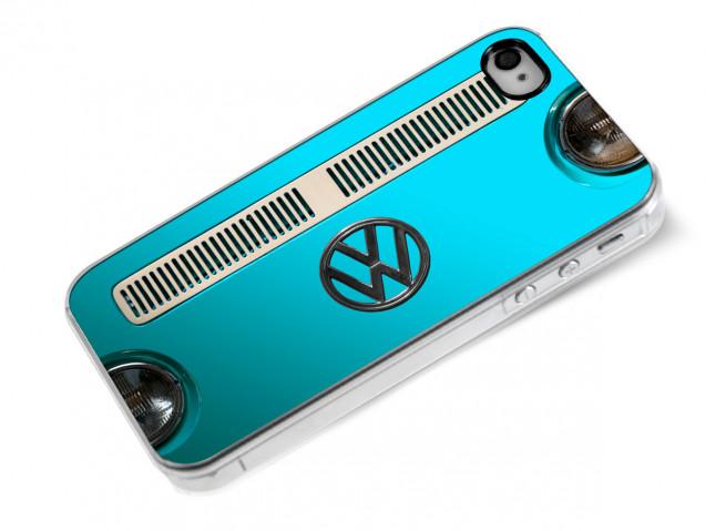 Coque iPhone 4/4S Combi-Turquoise