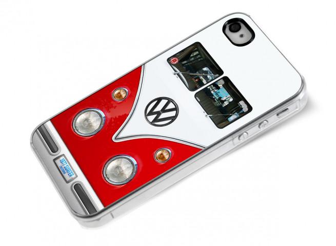 Coque iPhone 4/4S Combi-rouge