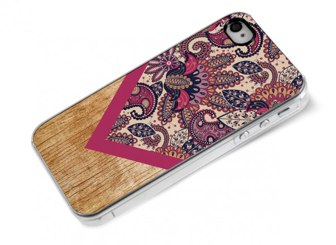 Coque iPhone 4/4S Graphic Wood-Modèle 2