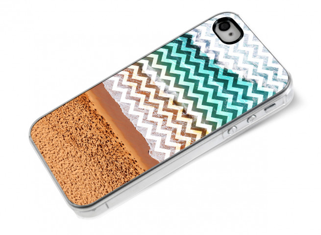 Coque iPhone 4/4S Chevrons Beach