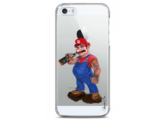 Coque iPhone 4/4S Mario