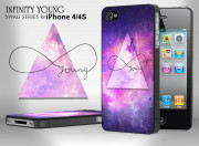 Coque iPhone 4/4S Swag Series - Infinity Young