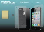 Film Protecteur AVANT/ARRIERE iPhone 4/4S Diamant