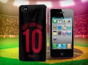 Coque IPhone 4/4S Coupe du monde 2014 maillot-Deutschland