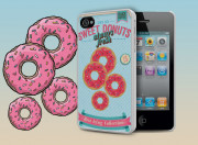 Coque iPhone 4/4S Vintage Donuts