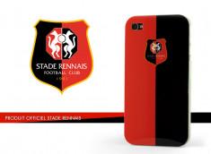 Coque Officielle iPhone 4/4S Stade Rennais - Rouge/Noir