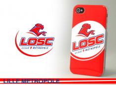 Coque Officielle iPhone 4/4S Lille Metropole LOSC