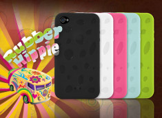 "Coque iPhone 4 ""Rubber Hippie"""