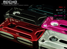 Coque iPhone 4/4S Mecha Metal Case Lishi