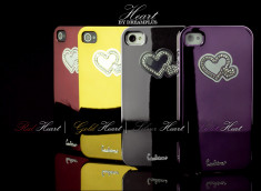 Coque iPhone 4/4S Hearts