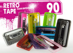 Coque iPhone 4/4S Retro Tape - Clear Edition