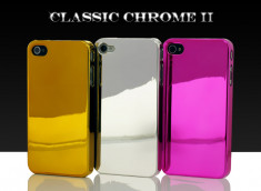 "Coque iPhone 4 ""Classic Chrome"""