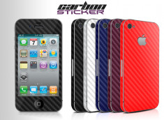 Kit Sticker Carbon iPhone 4/4S