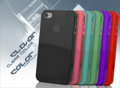 Coque iPhone 4/4S Clear Colo