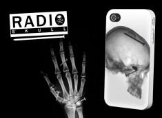 """Coque iPhone 4/4S """"Radio Skull"""""""